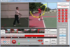 MotionView™ Video Analysis Software and Coaching Systems for Tennis