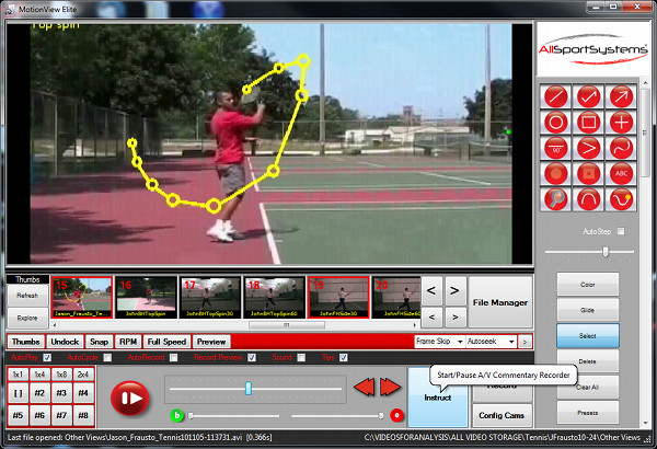 Tennis Swing Video Analysis Software And Systems For Tennis